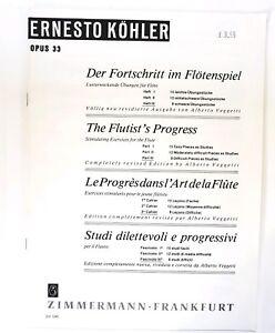 Ernesto Kohler: The Flutist's Progress - Part 3 (Music Book)