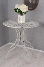 Garden table Shabby Chic Romance iron table round table Art Nouveau