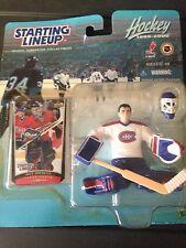 JEFF HACKETT 1999/2000 Starting Lineup SLU Original Packaging - CANADIENS 3RD