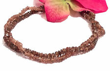 """andalusite bracelet double strand 7"""" knotted beaded rare"""