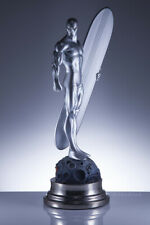 Tamaño Completo Raro Bowen Designs estatua pintada Silver Surfer