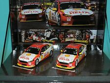 Biante 1/43 Shell Helix Falcon FGX 2016 Clipsal 500 Twin Set Pye & Collthard MiB