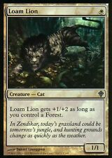 Loam Lion foil | nm | worldwake | Magic mtg