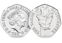 2018 UK Tailor of Gloucester Uncirculated 50p Fifty Pence Official Royal Mint