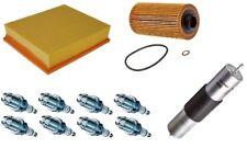 Service Kit Pour BMW E31 34 38 39 V8 Mann Air Huile Filtre à carburant BOSCH Spark Plugs