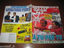 AUTOSPRINT 1990/23=RON DENNIS=CESARE FIORIO=RALLY BULGARIA=TABATAN=