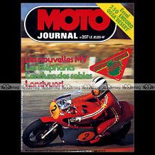 MOTO JOURNAL N°207 OSSA 250 ENDURO DESERT TEUVO LANSIVUORI BILL MITCHELL '75