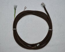 Replacement Line cord for Western Electric 302 Telephone complete with Rj plug