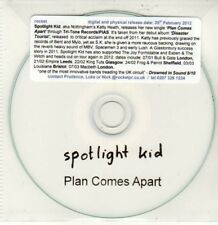 (DG130) Spotlight Kid, Plan Comes Apart - 2012 DJ CD