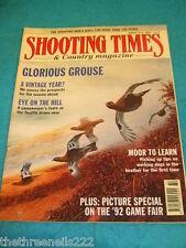 SHOOTING TIMES - GLORIOUS GROUSE - AUG 6 1992