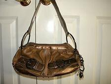Kathy VanZeeland Bronze Hobo Handbag & KeyChain