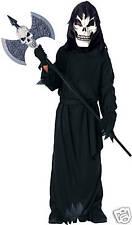 Scary Skeleton Halloween Costume Size LG 12-14 Unisex