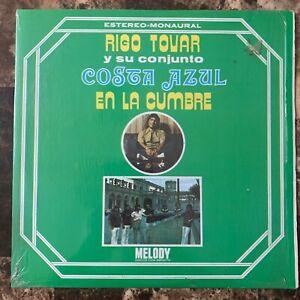 RIGO TOVAR Y SU CONJUNTO COSTA AZUL -EN LA CUMBRE- 1974 MEXICAN LP CUMBIA