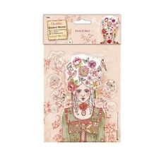 Marie-Antoinette-Santoro Willow-Accrocher Rubber Stamp Set