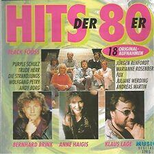 Die Hits der 80er (#11915) Klaus Lage Band, Purple Schulz, Spider Murphy .. [CD]