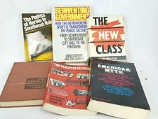 Vintage Lot of Communism and Philosophy Books New Class Clash Heroin