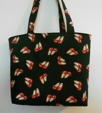 Wizard of Oz Handmade Ruby Red Slippers Magic of Oz Bag Tote Purse