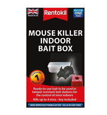 More details for rentokil mouse killer indoor bait box pest control baited