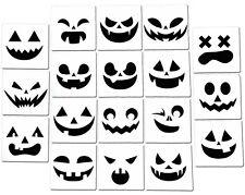 Halloween Pumpkin Jack o'Lantern Airbrush Spray Painting Stencil Kit (18 PCS)
