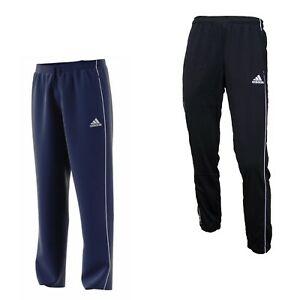 adidas Jogginghose Herren lang Sport Trainings Hose Fußball Männer schwarz blau