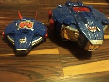 Power Rangers In Space Astro Megaship Micro Zord Playset Lot