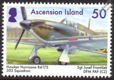 WWII RAF 303 Poland Squadron HURRICANE R4175 Aircraft Stamp (Josef Frantisek)