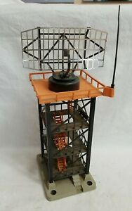 1959 LIONEL POST-WAR 197 ROTATING RADAR TOWER with GREY BASE - TESTED