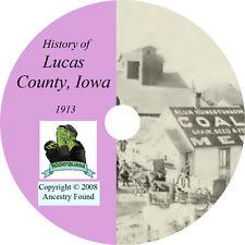 1912 LUCAS & WAYNE County Iowa IA - History & Genealogy - Ancestry  - CD DVD