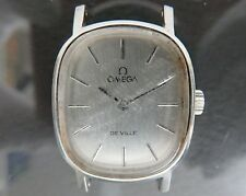 100% Authentic OMEGA DE VILLE Hand Wind Women's Wrist Watch 17J 511.0509 cal.625