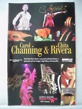CAROL CHANNING / CHITA RIVERA TOGETHER AT LAST Playbill NORTH SHORE MA 1997
