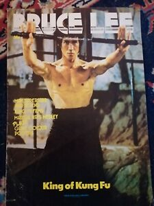 Bruce Lee New English Library Poster Magazine Film Stills Bullworker