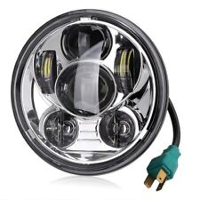 Chrome5.75 Inch Daymaker Projector LED Headlights for Harley Davidson Motorcycle