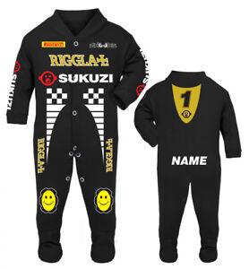 Sukuzi Riggla Baby Race/Sleep Suit