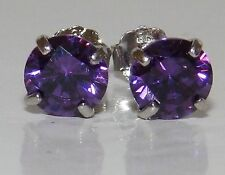 Marquise 9 Carat Amethyst Yellow Gold Fine Earrings