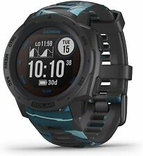 Mint Garmin Instinct Solar Surf Edition Pipeline GPS Smartwatch 010-02293-17