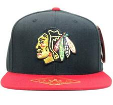 Chicago Blackhawks Blockhead Snapback Hat American Needle Licensed Brand New Cap