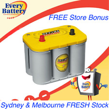 OPTIMA D34 YELLOW BATTERY Melbourne & Sydney Fresh Stock & Store Bonus