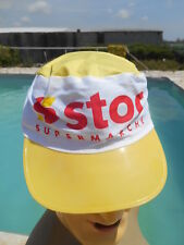 STOC SUPERMARCHE Casquette Cap Gorra True Vintage 80s Old School Cycling France