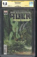 Immortal Hulk #2 CGC SS 9.8 1st Doctor Frye Signed by Alex Ross