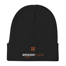 Amazon Flex Delivery Driver Embroidered Hat Cap Knit Beanie