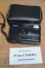 Halina Vision SNAPZ Fixed focus 35mm camera Lomography case,strap & Manual