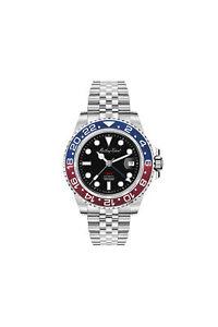 Mathey-Tissot GMT Automatic Black Dial Pepsi Bezel Men's Watch H903ATAR