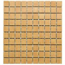 Mosaik Grohn IDA404 Indian beige braun 3 x 3 cm / 30 x 30 cm I. Sorte
