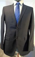 HUGO BOSS (The Keys/Shaft) SMART ELEGANT DESIGNER BLUE SUIT JACKET UK 36 EU 46