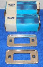 1970-1972 Ford Econoline E100 E250 1970-1977 Bronco NOS SIDE MARKER LAMP BEZELS