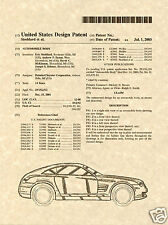 Chrysler Crossfire Coupe Charol Estampa ya a Marco 2003 Us Daimler Auto