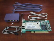 ATI TV Wonder PRO PCI TV Tuner w/ Video Capture Box and Cables Conexant Chipset