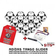 ADIDAS TANGO GLIDER STARTER KIT  ( 12 Tango, 1 String Ball Bag, 1 Pump)