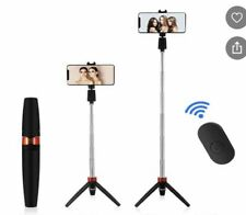 Mini Portable Phone holder Bluetooth Selfie Stick with Tripod and remote