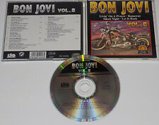 Bon Jovi Live Vol 3  Rare Import CD Living On A Prayer